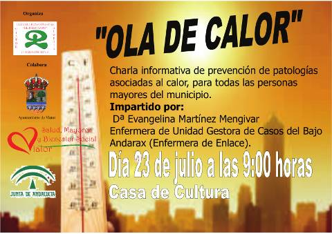 CHARLA OLA DE CALOR CLUB EL DESCANSO